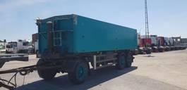 kipper aanhanger 31 m3 kipper aluminium / BPW / 3 asser 1995