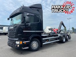 containersysteem vrachtwagen Scania R450 6X2*4 Hooklift scr only,navi, 2016
