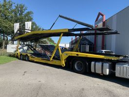 autotransporter oplegger KAESSBOHRER SP9-16L Transporter two deck top condition special price 2000