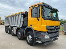 kipper vrachtwagen > 7.5 t Mercedes-Benz Actros 4448 ejector dumper Abschiebermulde Fliegl 2012