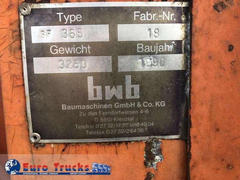 Bomag - BWB sf365 9