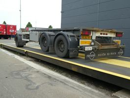 container chassis aanhanger GS Meppel AIC-2700 N 2005