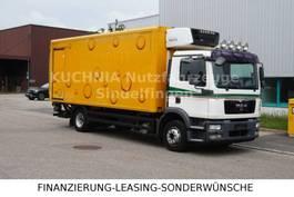 koelwagen vrachtwagen MAN TGM 12.290 BL Kühlkoffer 6m SUPRA 550 Klima LBW 2010