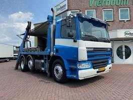 containersysteem vrachtwagen DAF CF75-250 6X2 PORTAALWAGEN HANDGESCHAKELD EURO3 2002