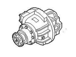 Differentieel vrachtwagen onderdeel Iveco Differential, Drive Axle