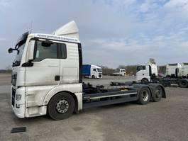 wissellaadbaksysteem vrachtwagen MAN TGX  TGX 26.440 LL Jumbo, Multiwechsler 3 Achs BDF Wechselsystem 2016