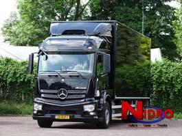 bakwagen vrachtwagen > 7.5 t Mercedes Benz ACTROS 1927 6-SEATS NAVI AC CAMERA LIFT 2000 KG 2017