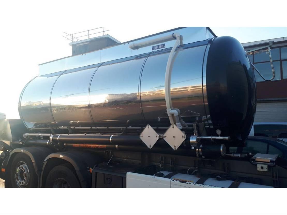 tankcontainer Feldbinder rvs tank