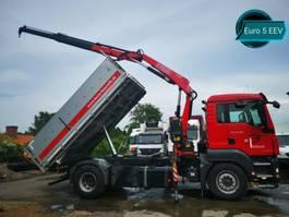 kraanwagen MAN TGS 18.400*EURO 5 EEV KEMP ALU KIPPER+KRAN +TÜV* 2012