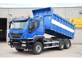 kipper vrachtwagen > 7.5 t Iveco TRAKKER 450  6 X 4 - KIPPER - TRACTOR  - EURO 5 EEV 2013
