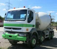 betonmixer vrachtwagen Renault Kerax 370 dxi 8x4 Betonmischer 9m³