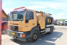 kolkenzuiger vrachtwagen MAN 14.224 4x2 Vacuum Truck.