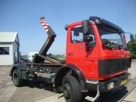 containersysteem vrachtwagen Mercedes Benz 1620 HAAKSYSTEEM ORGINAL 73000 KM,ABS 1988