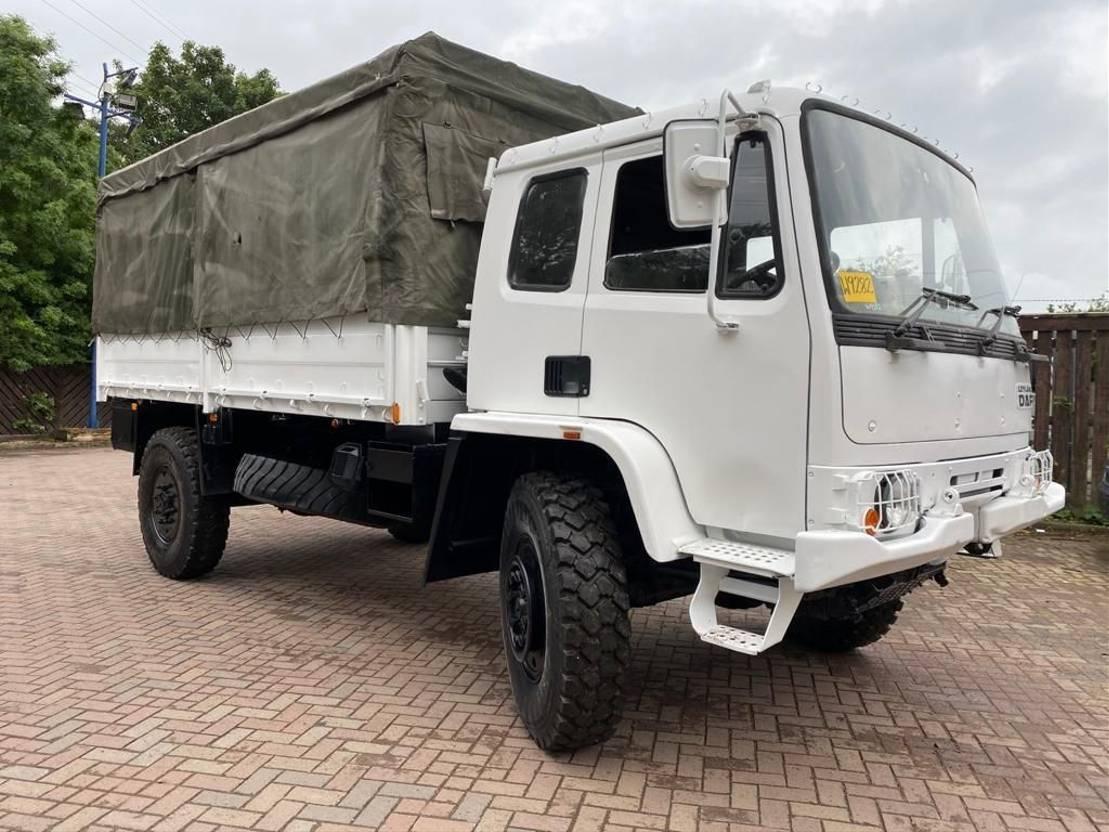 leger vrachtwagen DAF Leyland DAF 4x4 cargo truck ex army 1994