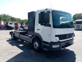 containersysteem vrachtwagen Mercedes Benz ATEGO 12.18 haaksysteem 2005