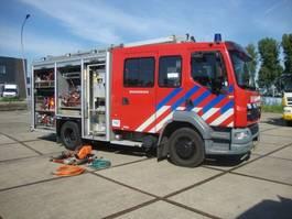 brandweerwagen vrachtwagen DAF 55-250 BOMBEROS  HOLMATRO SET 2003