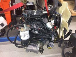 Motor vrachtwagen onderdeel Kubota 3-cilinder Kubota motor. Vermogen 13,3 PK / 9,9 kW 2019