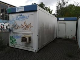 kantoor woonunit container Ackermann Büro-wohncontainer 2004