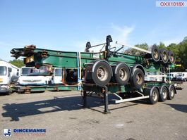 container chassis oplegger General Trailers Stack - 3 x container trailer 20-40 ft ADR 2003