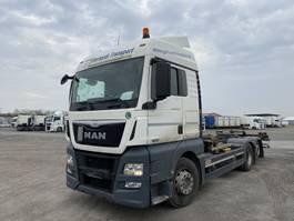 wissellaadbaksysteem vrachtwagen MAN TGX  TGX 26.440, Multiwechsler + Ladebordwand 3 Achs BDF Wechselsystem 2013