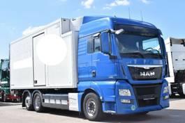 koelwagen vrachtwagen MAN TGX 26.440 E6 XLX Schmitz Carrier LBW Bi-Temp 2013