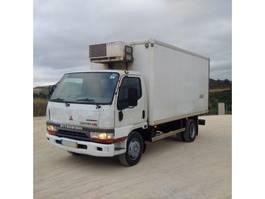 koelwagen vrachtwagen Mitsubishi Canter HD 3.9 TD 4D34 7.5 ton manual pump left hand drive 2000