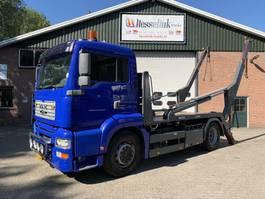 containersysteem vrachtwagen MAN TGA 18.360 Absetzkipper Manual AHK EURO 3 430.400km 2001
