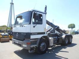 open laadbak vrachtwagen Mercedes Benz Actros 2001