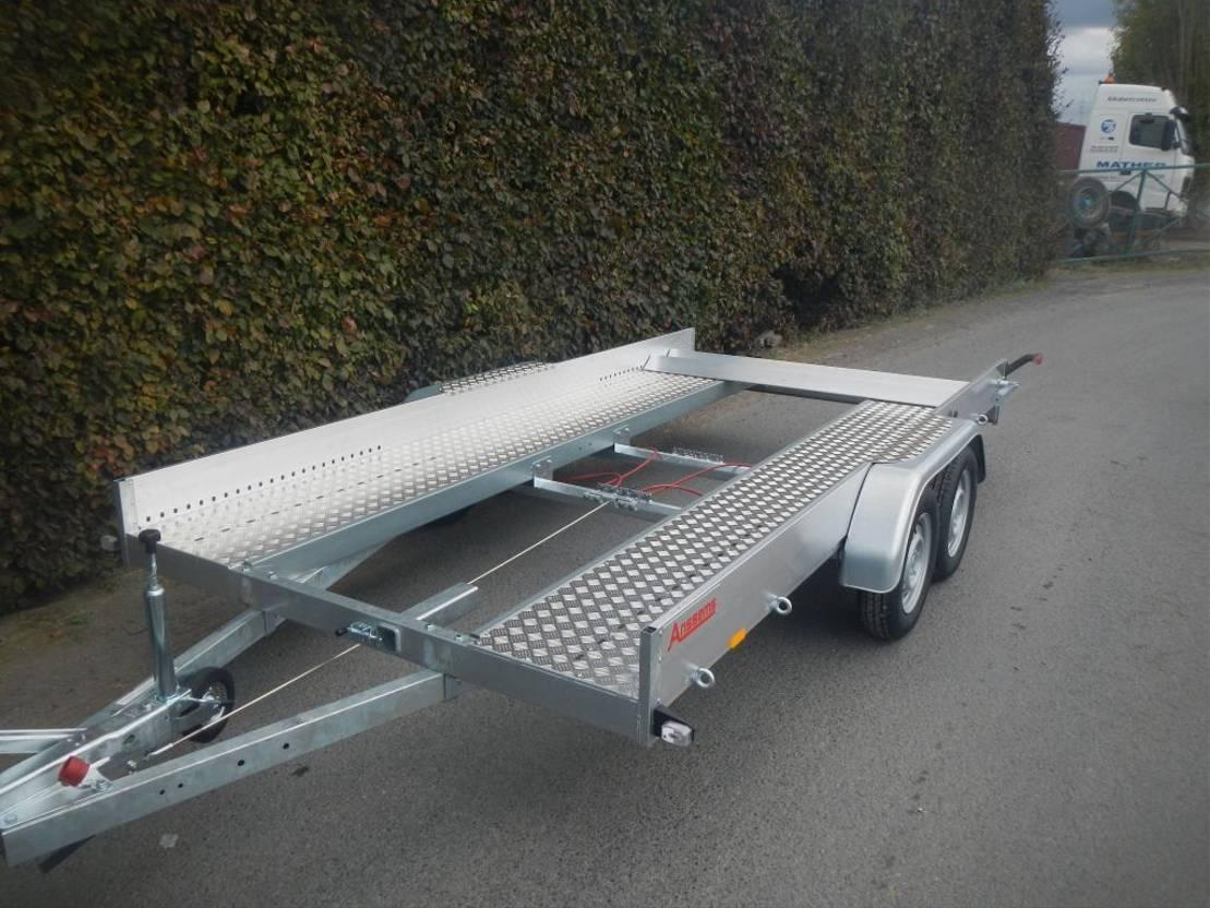 autotransporter aanhangwagen Anssems AMT  eco