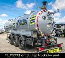 tankoplegger Kaessbohrer V2A Gülle 30 m³, 4 Domdeckel, nur 6,5 t. leer 2020