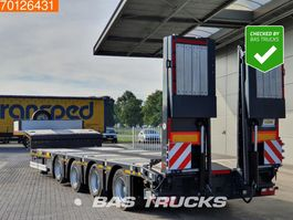 dieplader oplegger Kaessbohrer SLA 4 / 2N - 18/40 4 axles Extendable bed 13.10m 2x Steering axle Lift axle 2020