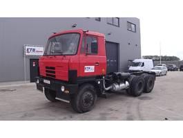 chassis cabine vrachtwagen Tatra FULL STEEL SUSP. / 6X6 1990
