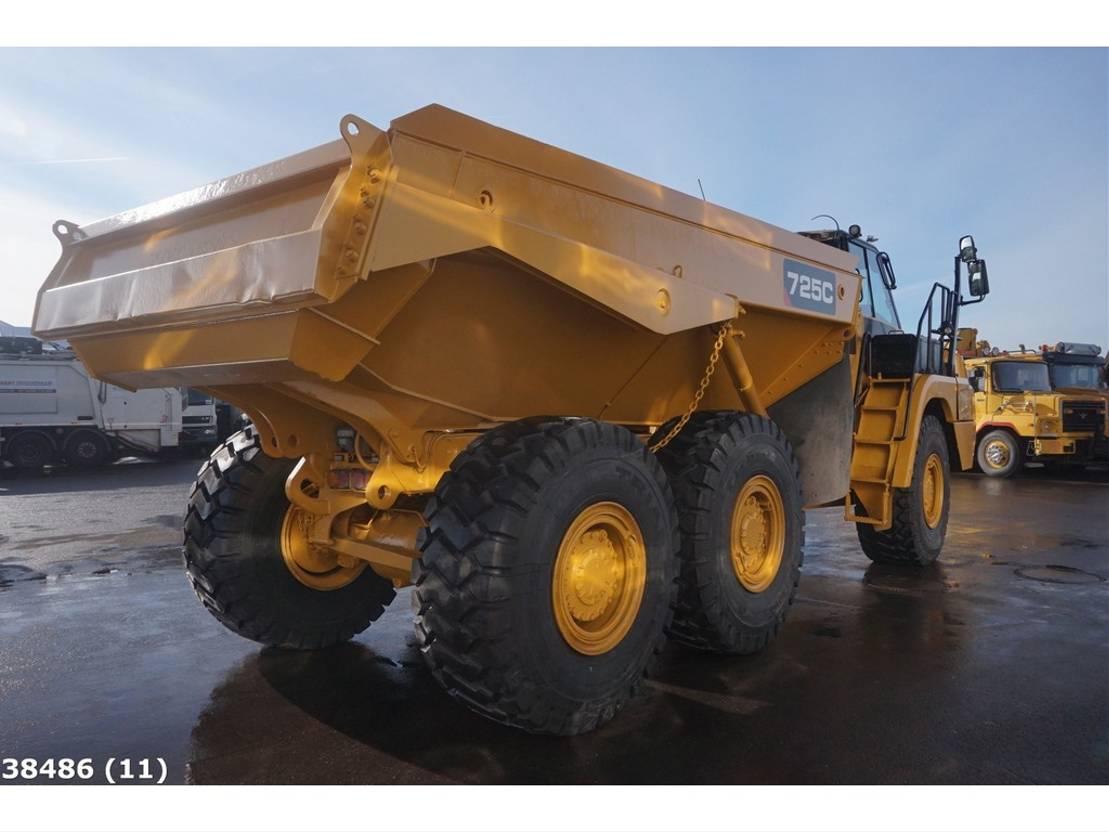 wieldumper Caterpillar 725C 6x6 Retarder Articulated truck 2014