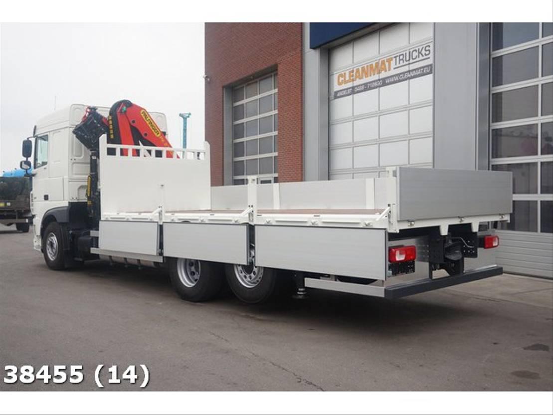 kraanwagen DAF FAN XF 480 6x2 Fabrieksnieuw Palfinger 27 ton/meter laadkraan 2019