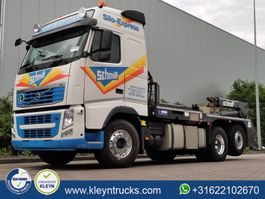 containersysteem vrachtwagen Volvo FH 13.500 schmitt silosteller, 2013