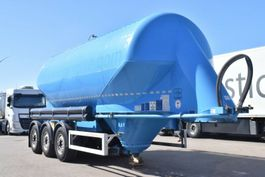 silo oplegger Feldbinder EUT35.3 Zement Silo Liegend Alufelgen 2011