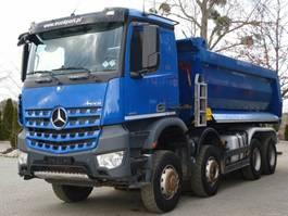 open laadbak vrachtwagen Mercedes Benz AROCS 4145 8x6 EURO6 Muldenkipper TOP!