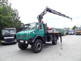 kraanwagen Unimog U5000 4X4 HIAB 166 2007