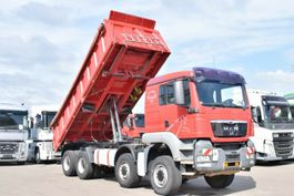 kipper vrachtwagen > 7.5 t MAN TGS 35.400 8x6 BB Meiller 3Seiten Kipper Schalt 2008