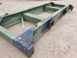 containerheftruck Caterpillar 20ft spreader 1900