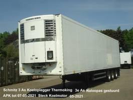 koel-vries oplegger Schmitz Cargobull SK024 Schmitz 3 As Koeloplegger Thermoking SL2 50 + Naloopas gestuurd 2004