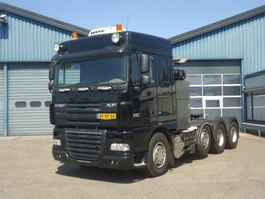 standaard trekker DAF SPACECAB  FTM XF105-510 8X4 Euro 5   Liftas Stuuras 120 Tons Zwaar Transport 2008