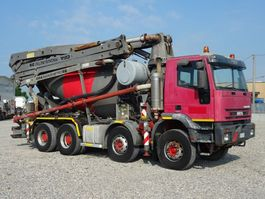 betonpomp vrachtwagen Iveco EUROTRAKKER  410E44