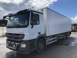 koelwagen vrachtwagen Mercedes Benz Actros 2536, 6x2, Euro 5, Refrigerated 2-zone, 2011 2011