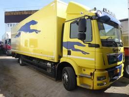 bakwagen vrachtwagen > 7.5 t MAN TGM 12.250, euro 6, LBW 2500 kgs, 2015