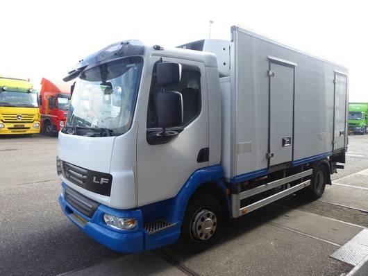 koelwagen vrachtwagen DAF LF45 160, EEV, Carrier Vector, Blatt gefederd, Manual , Euro 5 2011
