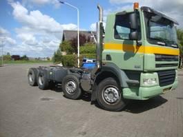 chassis cabine vrachtwagen DAF FAD CF85-360 euro5 8x4 2007