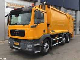vuilniswagen vrachtwagen MAN TGM 26.340 Geesink 20m3 2012
