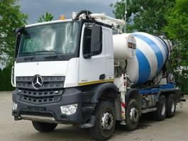 betonpomp vrachtwagen Mercedes Benz AROCS 3240 8x4 EURO6 Pumi CIFA 24M