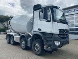 betonmixer vrachtwagen Mercedes Benz AROCS 3740 8x4 Euro6 M-Fahrerhaus LIEBHERR HTM 9